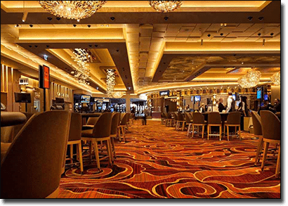 Casino games offered at Crown Perth