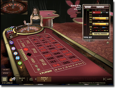 Microgaming's Playboy Live dealer casino games