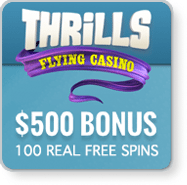 Thrills Casino mobile pokies gambling app